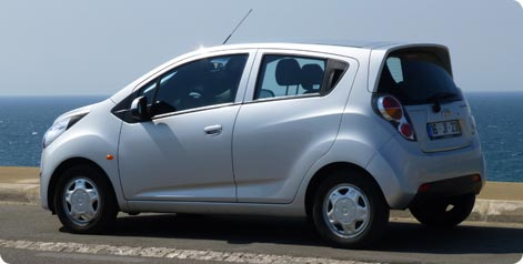 Chevrolet Spark - popular small city car