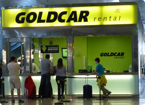 Goldcar Office Alicante