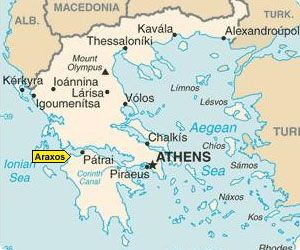 Rent a car at Araxos Airport - Greece car hire
