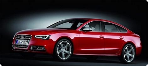 Audi A5 for rent Switzerland