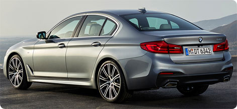 New BMW 5 series 2017 picture rear
