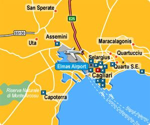 Cheap Car Hire Sardinia Cagliari Airport