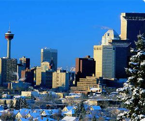 Calgary Airport car hire - compare prices of Canada car rental