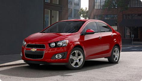 Economy car hire Denver Airport  - Chevrolet Aveo (Sonic)
