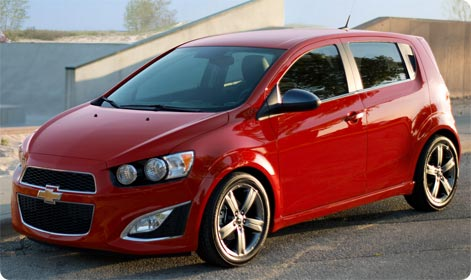 Chevrolet Aveo (Sonic) - cheap to rent in Hawaii