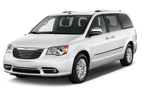 Chrysler Town and Country rental 7-seater USA