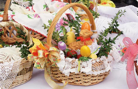 Easter basket Poland