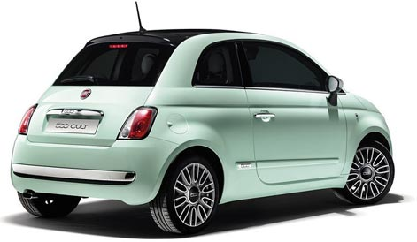Fiat 500 rental car UK