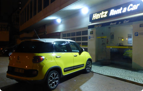Hertz Car Hire Bilbao Airport