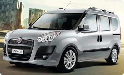 Fiat Doblo car hire Turkey