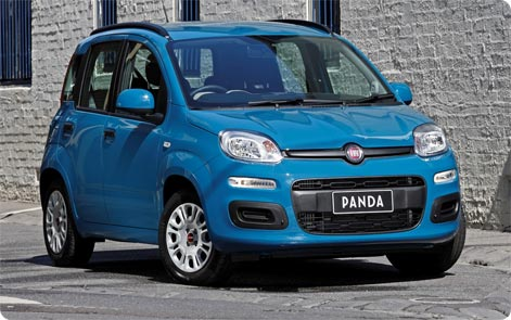 Fiat Panda cheap car to rent in Sardinia