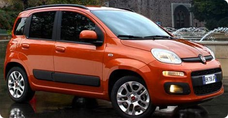 Fiat Panda cheap car rental Crete