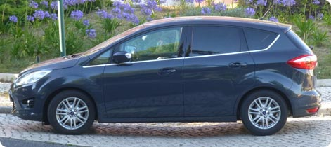 Ford C-Max family car to rent in Majorca