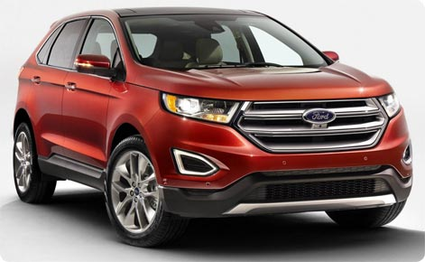 Ford Edge - SUV car rental Orlando Airport