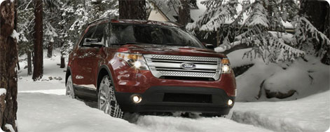 Ford explorer 4 wheel drive