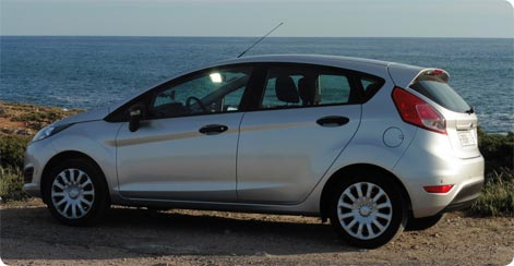 Ford Fiesta - economy car hire Alicante Airport