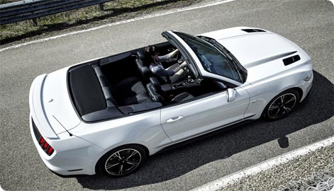 Ford Mustang Convertible car rental Atlanta