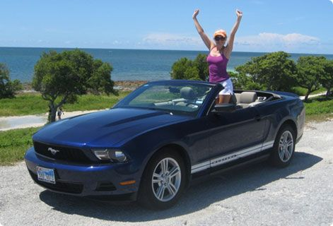 Cheap car hire usa ford mustang convertible florida Cheapest rent prices in usa