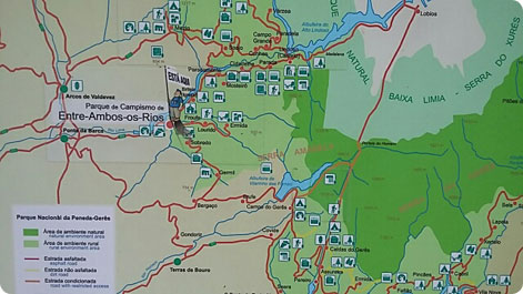 Geres map