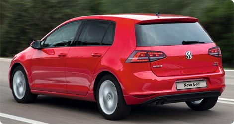 Dortmund Airprot car hire VW Golf