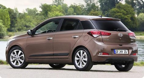 Hyundai i20 to rent from Cape Town Airport