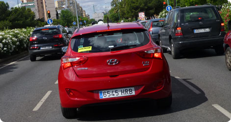 Hyundai i30 - Spain Goldcar rental