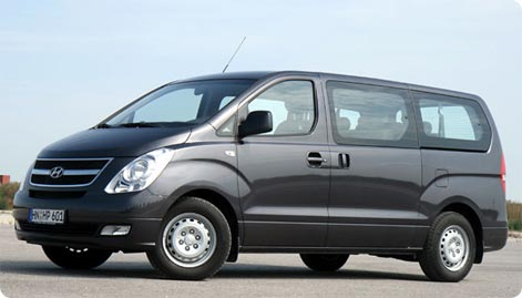 Minivan hire Melbourne Airport