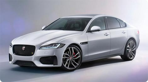 Luxury car hire Mauritius Jaguar XF