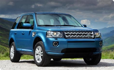 SUV car hire Manchester Airport Land Rover Freelander