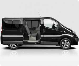 Search minibus rental – 8 or 9 seater cars available