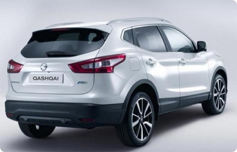 Nissan Qashqai car rental Vagar Airport