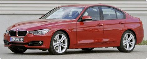 New BMW 3-series 2012