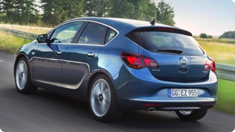 Vienna Airport car hire Opel Astra