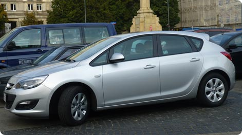 Car hire Helsinki Airport Opel Astra