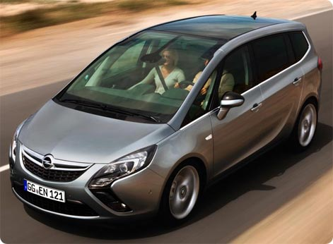 Family car to rent in Tenerife - Opel Zafira