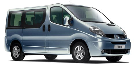 Renault Trafic 9-seater to rent in Madeira Funchal Airport