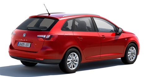 Seat Ibiza estate car to rent in Tenerife