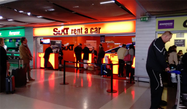 Lisbon Airport car rental companies