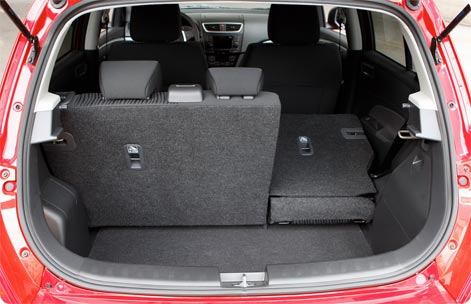 Suzuki Swift trunk