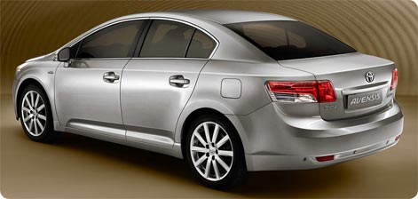 Athens Airport car hire Toyota Avensis