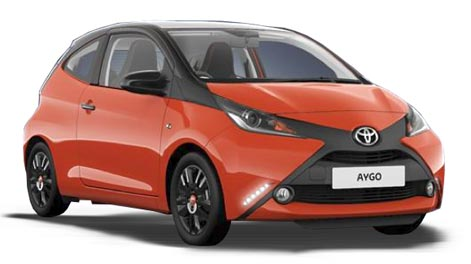 Toyota Aygo  cheap car to rent in Kos Airport