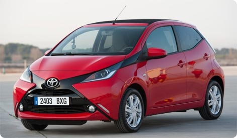 Toyota Aygo - cheap rental car Kos
