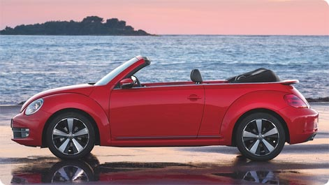 VW Beetle Convertible to rent in Tenerife