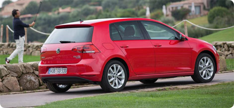 VW Golf - cheap car hire Spain