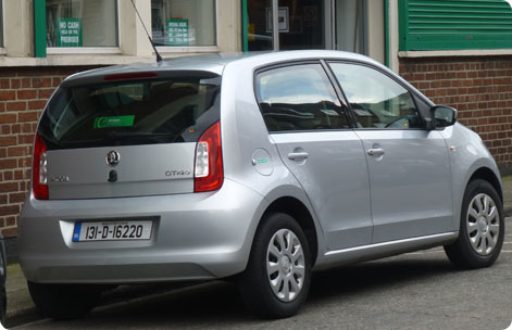 VW Up - cheap car hire Ireland