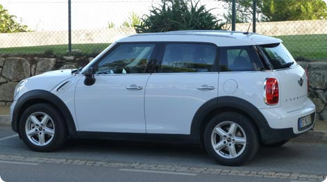 Mini Countryman Majorca Airport