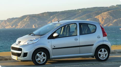 Peugeot 107 - cheap hire car Majorca