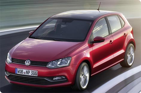 VW Polo - economy hire car Tenerife