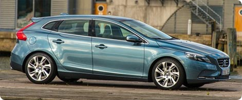 Volvo V40 Hatchback, a popular hire car in Cologne/Bonn Airport